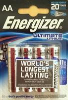 Energizer AA Ultimate 1.5V 4-pack