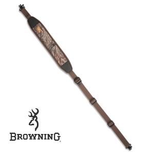 Vapenrem Browning Neoprene Sling Mossy Oak