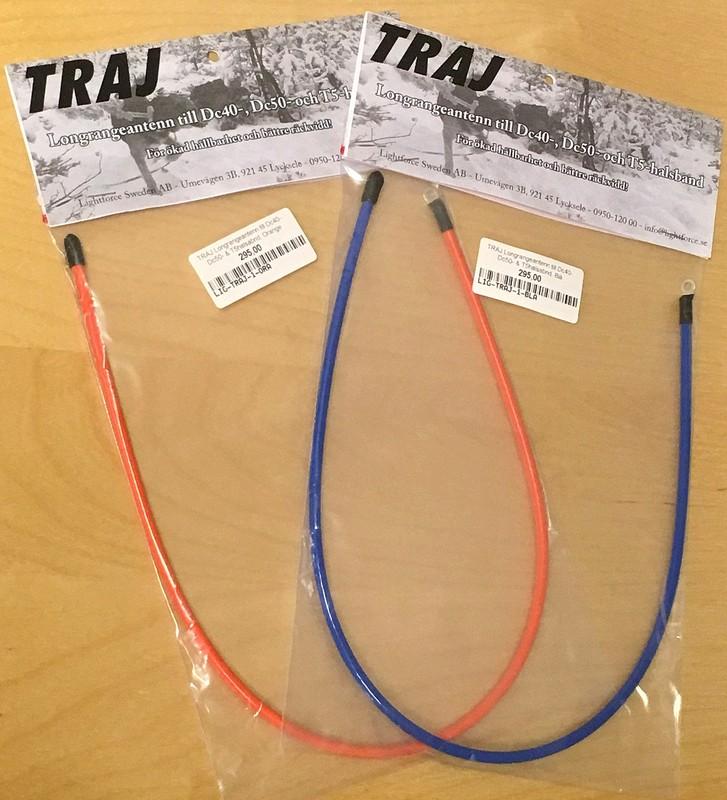 Longrangeantenn till Dc40-, Dc50- & T5-halsband