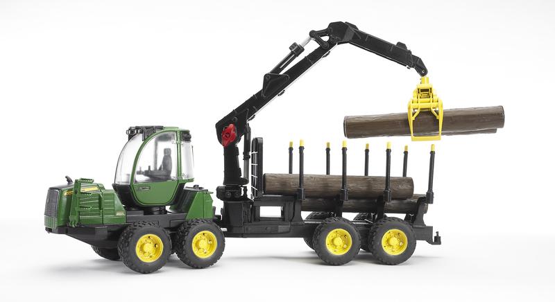 John Deere Skogsmaskin med kran, Leksak