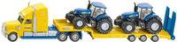 Lastbil med 2st New Holland traktorer, Leksak