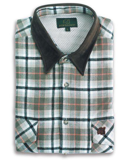Skjorta Hamilton med Skinnkrage Runnarköp