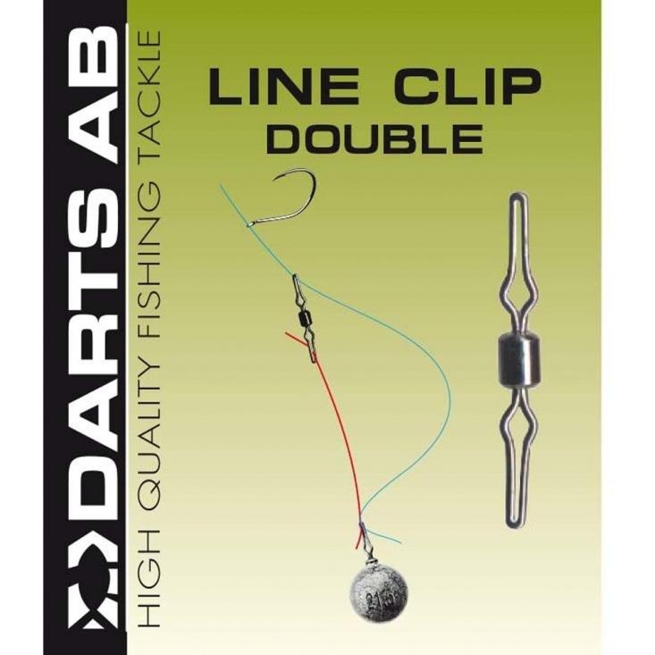 Darts Line Clip Double