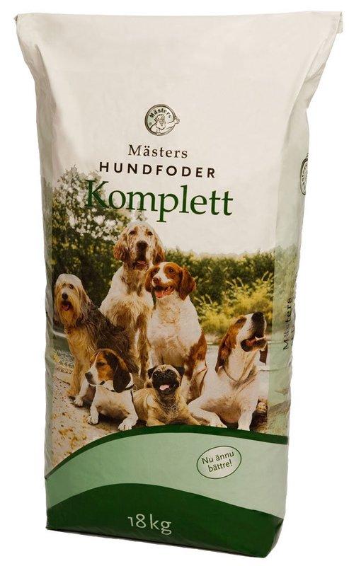 Hundfoder Mästers Komplett 18 kg