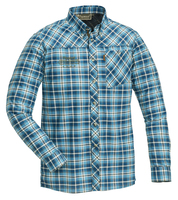 Caribou Slim Skjorta Pinewood - Blå