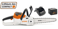 Stihl MSA 120 C-BQ Compact-Line - Komplett m. batteri/laddare