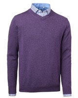 Gary Wool Pullover Chevalier - Lila