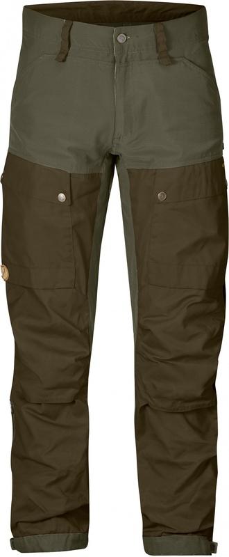 Keb Trousers Regular Byxa Fjällräven - Tarmac Dark Olive