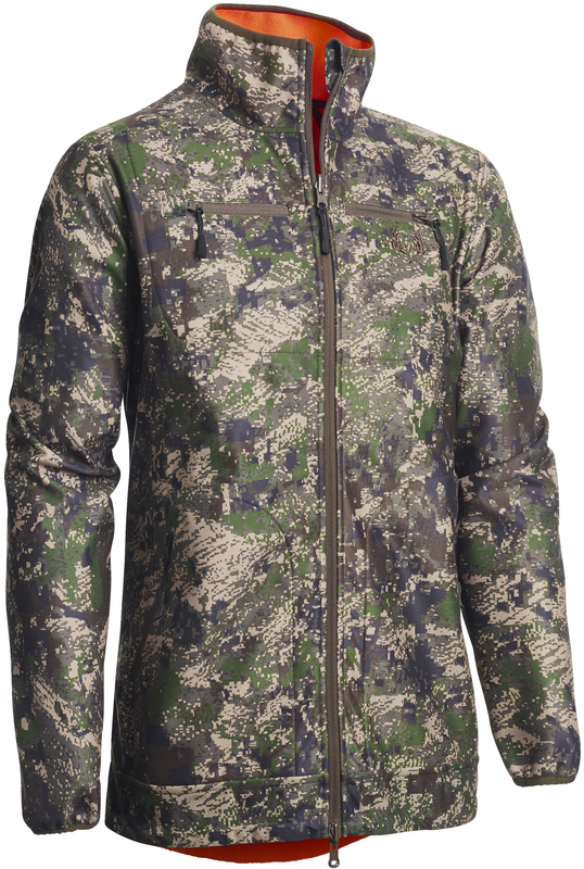 Reversible Windblocker Coat Dam Chevalier - Pixel Camo