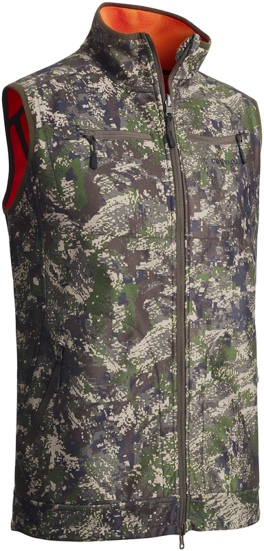 Pixel Camo Reversible Windblocker Vest Chevalier
