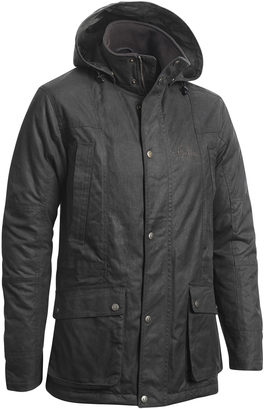 Rufford Waxed Coat Chevalier - Brun