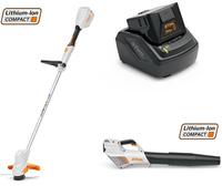 Stihl Batteripaket - Grästrimmer/Blås/Batteri/Laddare