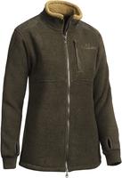 Milestone Fleece Coat Dam Chevalier - Grönmelange