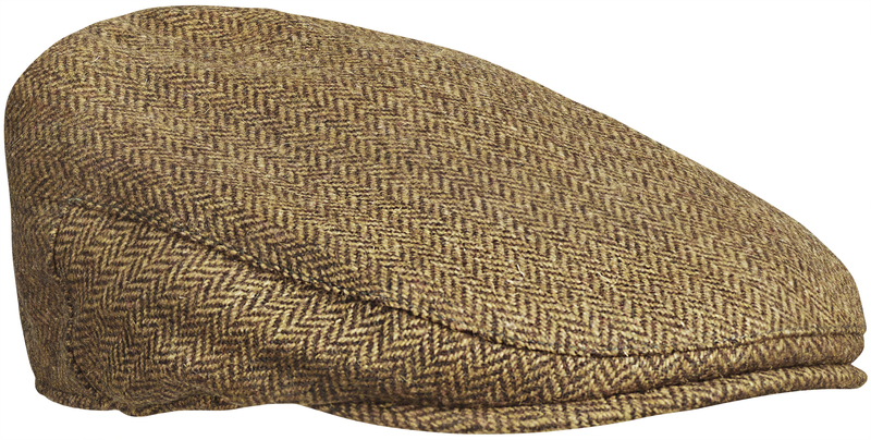 Hawick Tweed 6pence Cap Chevalier - Brown *