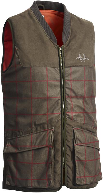 Whisper Vest Checked Chevalier