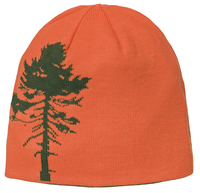 Träd Vändbar Mössa Barn - Orange/Grön