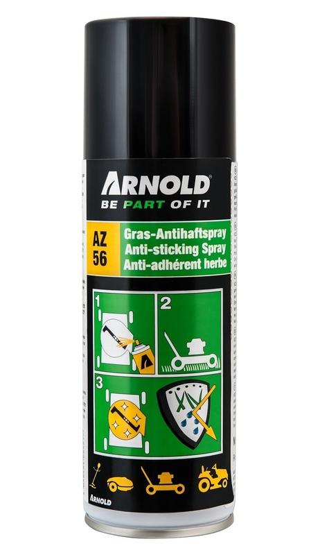 Antistick spray för gräsklippare & snöslungor