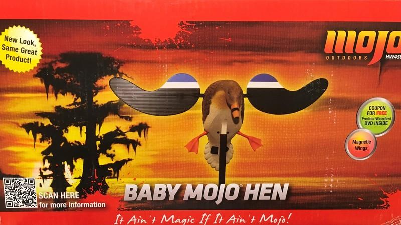 Baby Mojo Hen - And med rörliga vingar Bulvan