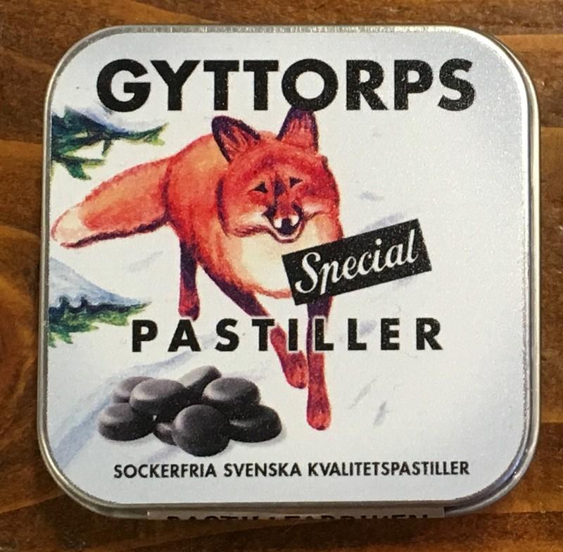 Pastiller Saltlakrits Gyttorp