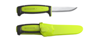 Morakniv Basic Svart/Lime 2017 Edition
