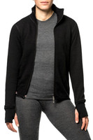 Full Zip Jacket 400 Woolpower - Svart