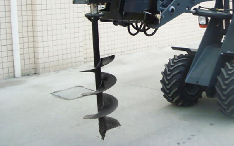 Jordborr 200 mm, Längd 750mm Exkl. Borrhuvud