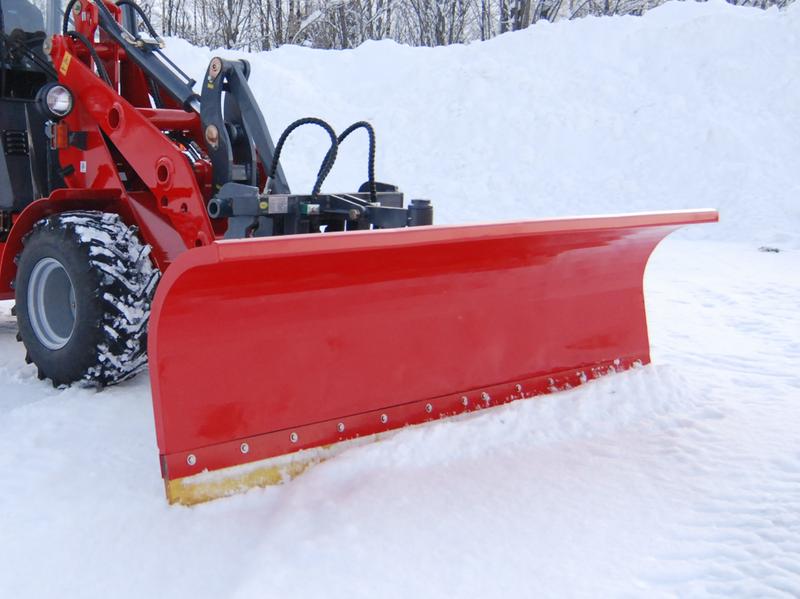 Snöblad 180cm Trima/SMS fäste, hyd. vrid och fjäderutlösning
