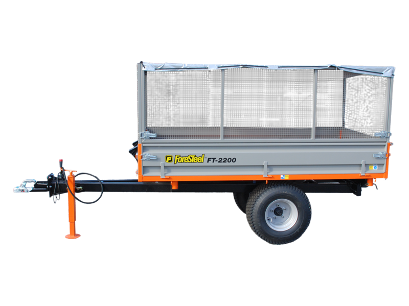 Tippvagn FT-2200 trevägstipp