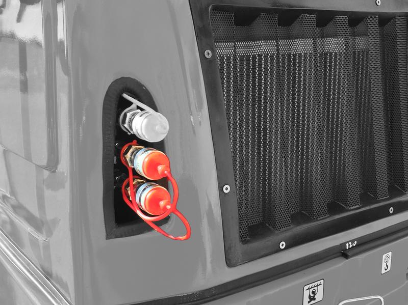 Dubbelverkande hydrauluttag bak, Trejon Flexitrac 12-serie