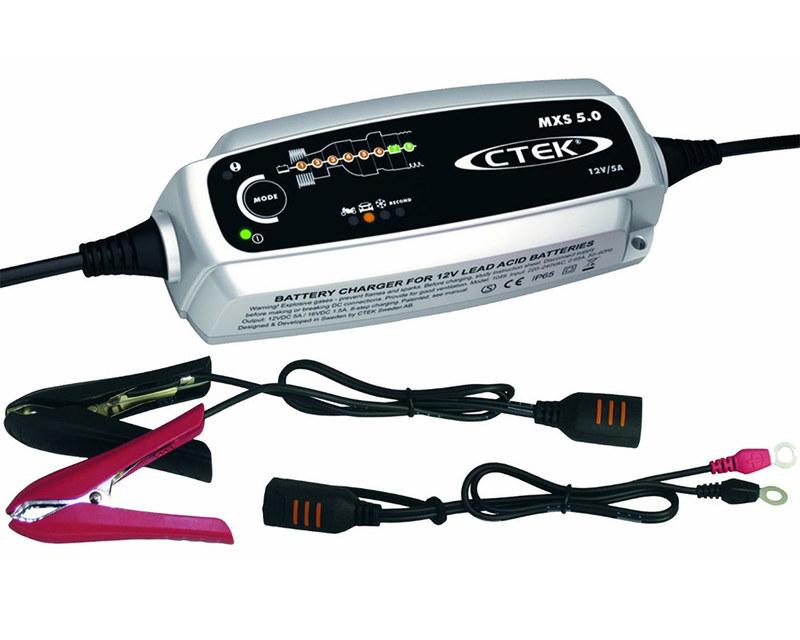 Batteriladdare CTEK MXS 5.0, 12V