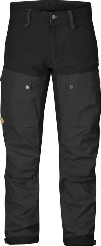 Keb Trousers Regular Byxa Fjällräven - Black *