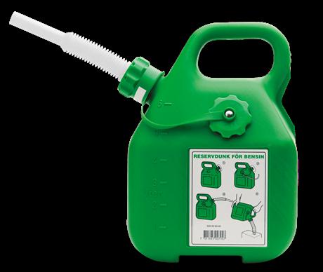 Bensindunk 6L Grön