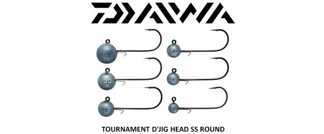 Daiwa D`Jig Head 6/0 4-Pack