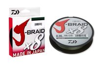 Daiwa J-Braid X8 Dark Green