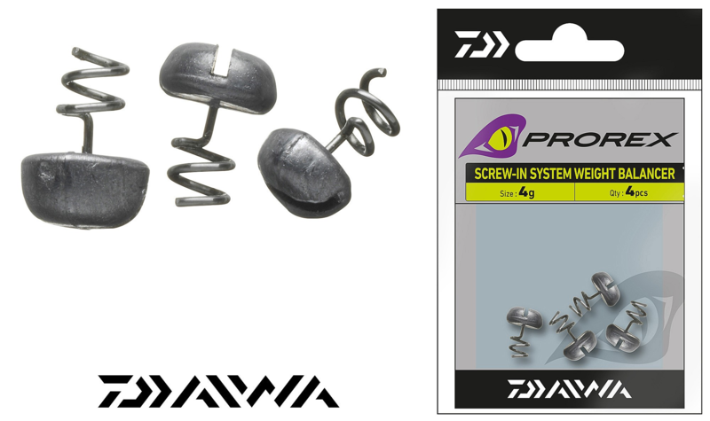 Daiwa Prorex Screw-In Weight 6 Gram