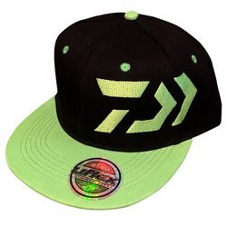 Daiwa Snapback Cap Black/Green One Size