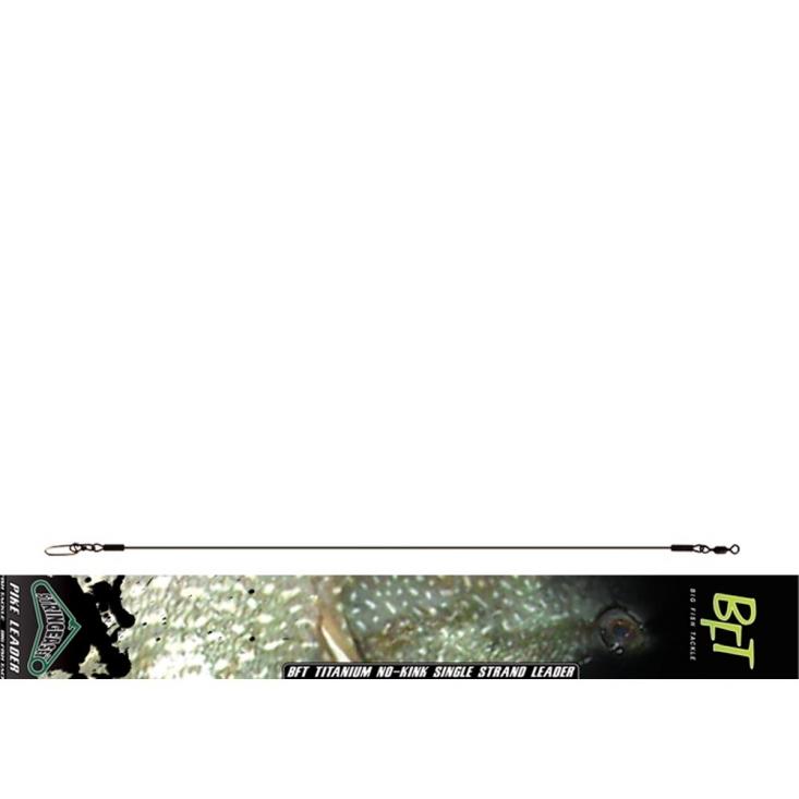 BFT Stiff Jerkbait Leader Titanium 30 Cm 1-Pack