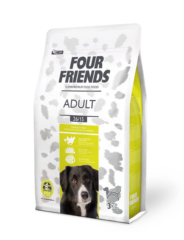 Hundfoder FourFriends Adult