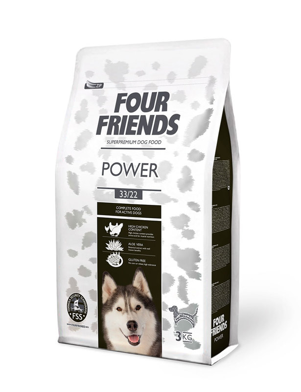 Hundfoder FourFriends Power