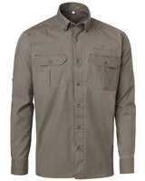 Kenya Safari Shirt Chevalier - Tobacco
