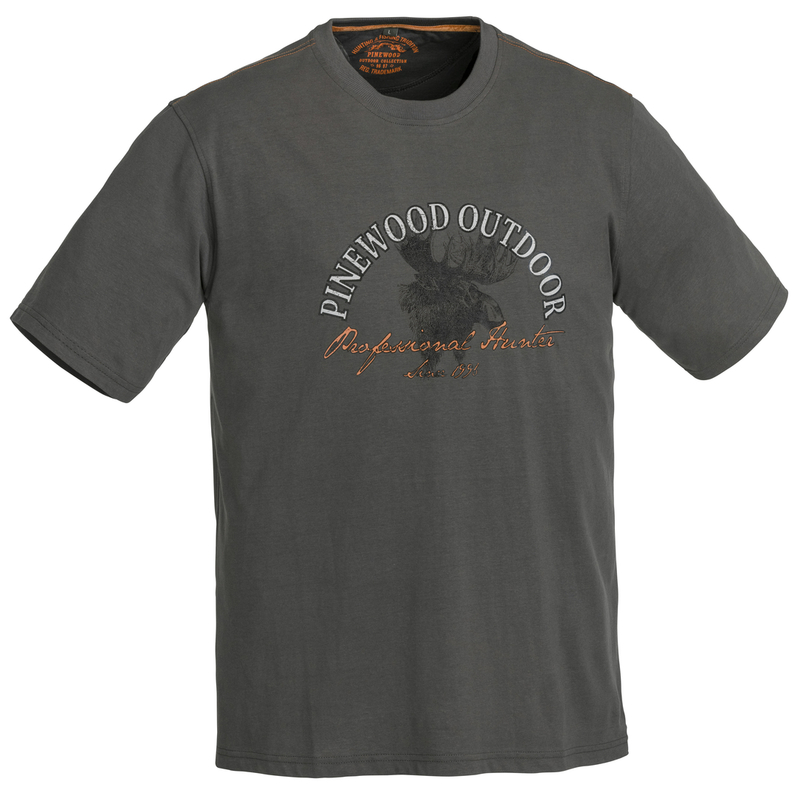 Moose T-Shirt Pinewood - Antracit