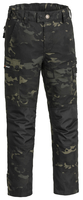 Lappland Camou Byxa Barn Pinewood - Black Jungle/Black