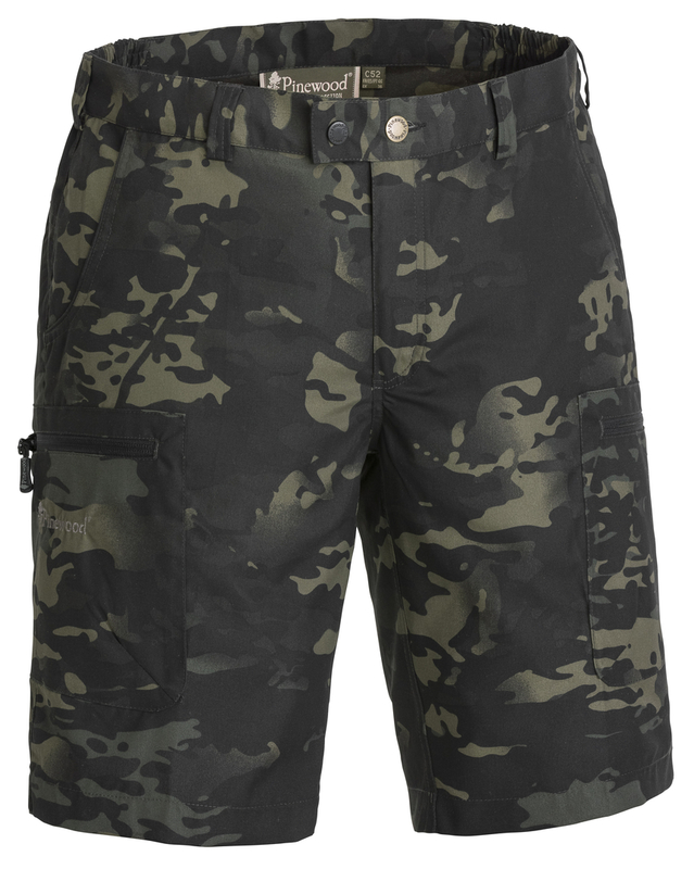 Caribou Camou TC Shorts Pinewood - Black Jungle