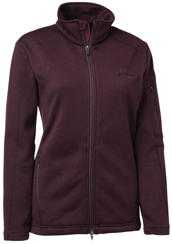 Whati Fleece Coat Dam Chevalier - Purple *