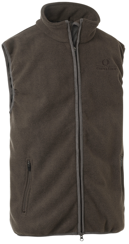 Bylot Fleece Vest Chevalier - Brown
