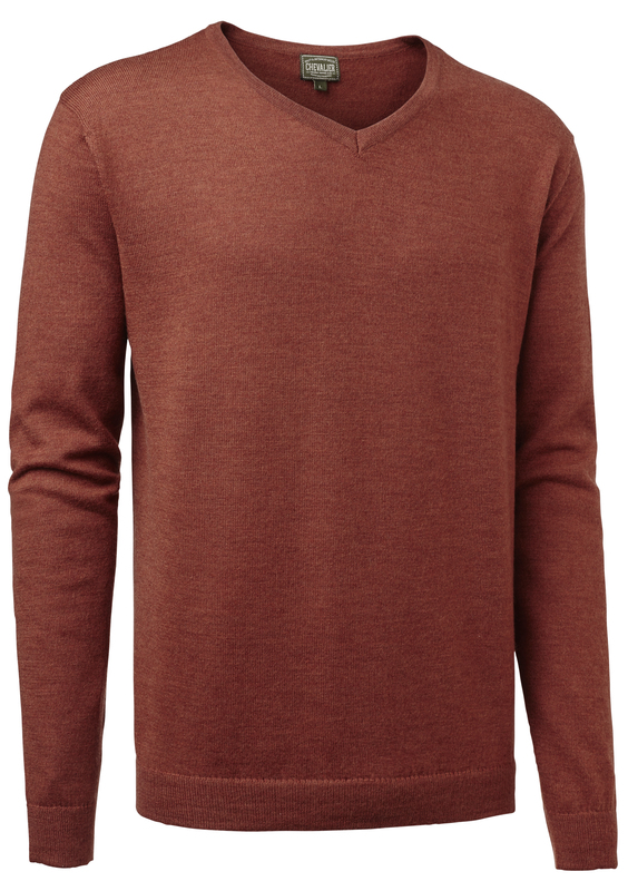 Gart Merino Sweater Chevalier - Orange