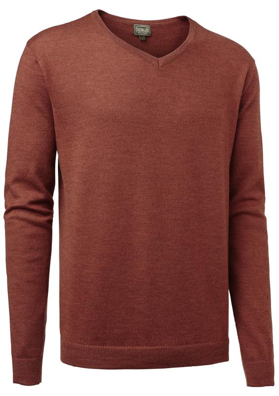 Gart Merino Sweater Chevalier - Orange *