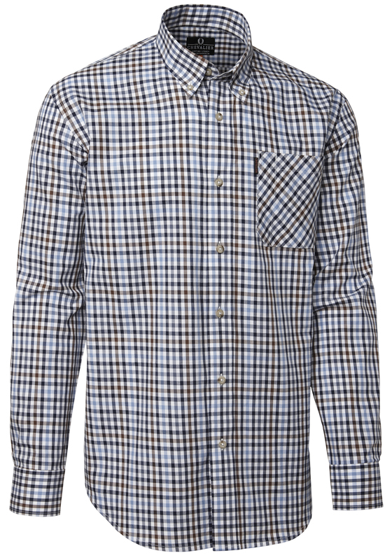 Riley Cotton Twill Shirt BD LS Chevalier