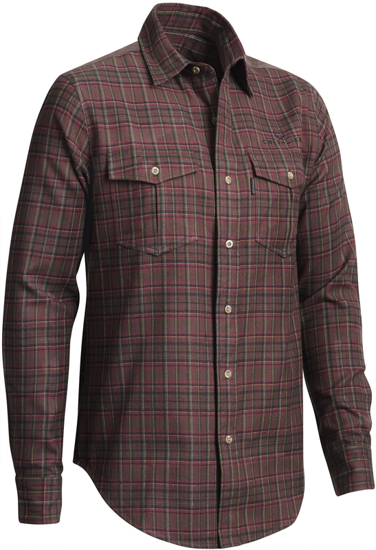 Rynie Flannel Shirt LS Chevalier