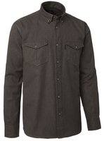 Kilmory Shirt BD LS Chevalier - Brown